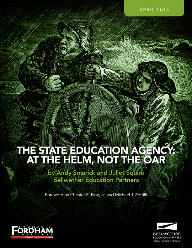 The State Education Agency: At the Helm, Not the Oar