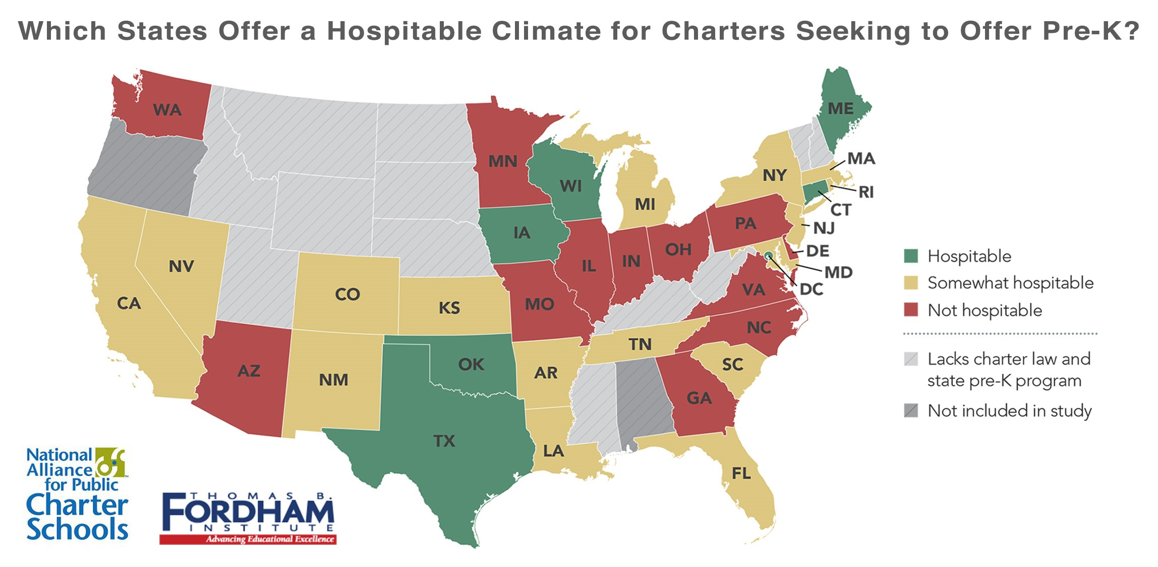 Pre K And Charter Schools Where State Policies Create Barriers To