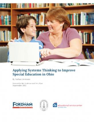 How Can We Improve Special Education >> Applying Systems Thinking To Improve Special Education In Ohio The