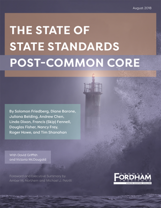the state of state standards post common core the thomas b